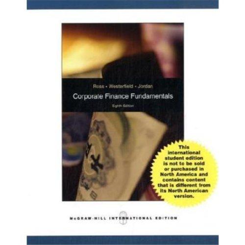9780071281614: Corporate Finance Fundamentals