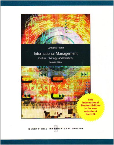 9780071283144: International Management: Culture, Strategy, and Behavior