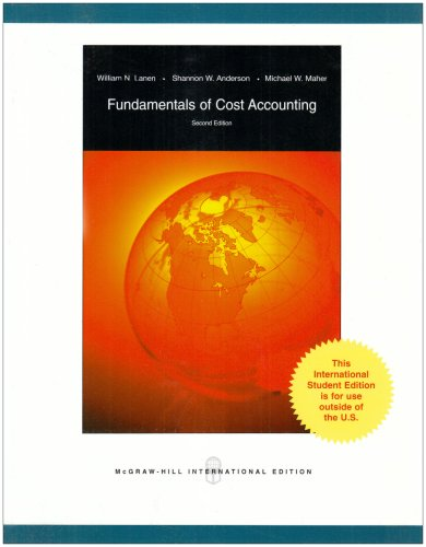 9780071283168: Fundamentals of Cost Accounting