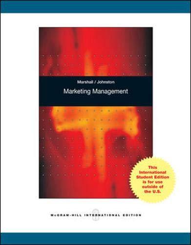 9780071283182: Marketing Management