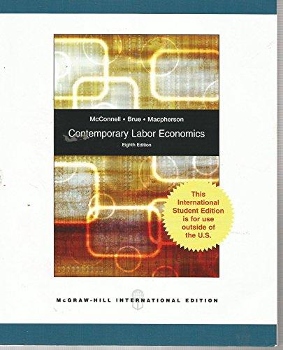 9780071283199: Contemporary Labor Economics