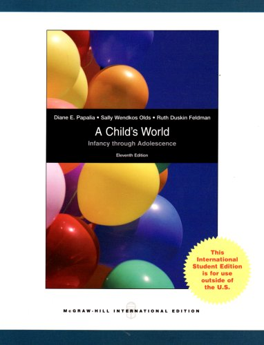 9780071283274: A Child's World: Infancy Through Adolescence