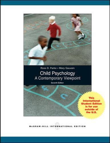 9780071283281: Child Psychology: A Contemporary View Point (Int'l Ed)