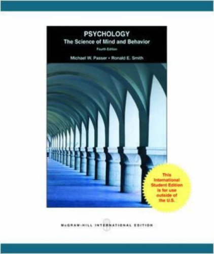 9780071283298: Psychology: The Science of Mind and Behavior