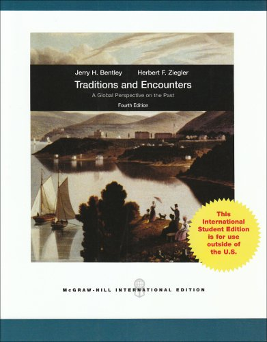 9780071283304: Traditions & Encounters: A Global Perspective on the Past