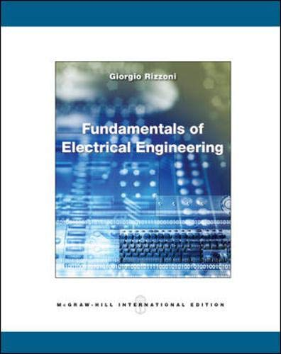 9780071283380: Fundamentals of Electrical Engineering (College Ie Overruns)