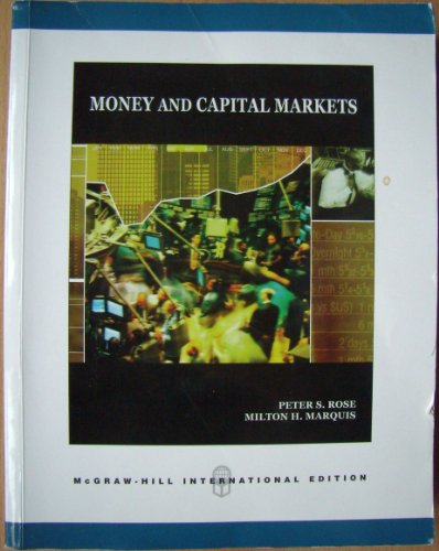 9780071283397: Money and Capital Markets