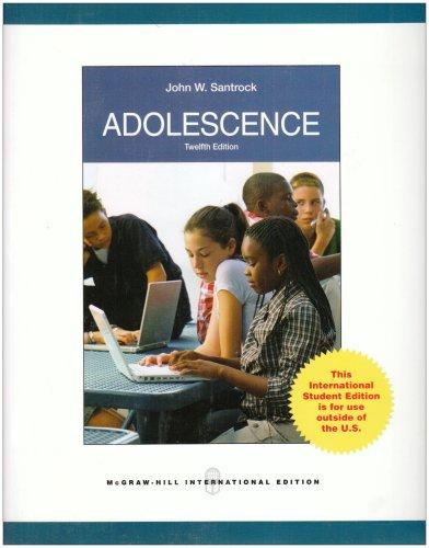 9780071283427: Adolescence