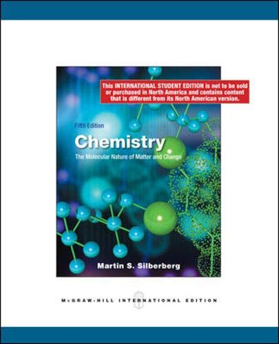 9780071283540: Chemistry: The Molecular Nature of Matter and Change