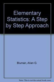 9780071283564: Elementary Statistics: A Step by Step Approach