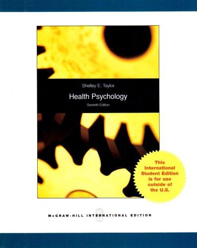 9780071283601: Health Psychology