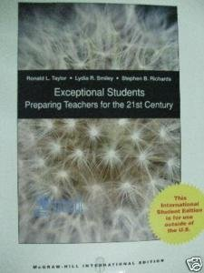 9780071283618: Exceptional Students: Preparing Teachers for the 21st Century