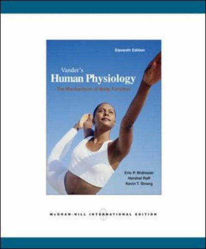 9780071283663: Vander's Human Physiology