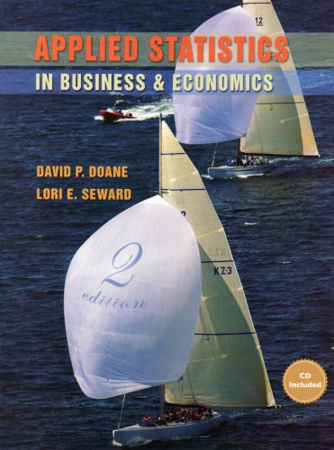 9780071283731: Applied Statistics in Business and Economics