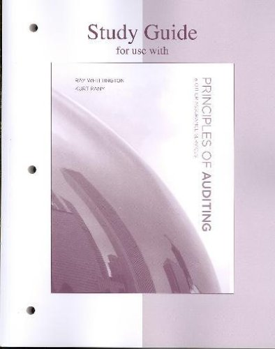 9780071283748: Principles of Auditing and Other Assurance Services