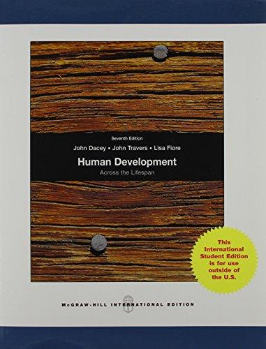 9780071283984: Human Development Across the Lifespan