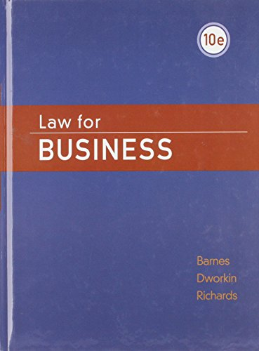 9780071284004: Law for Business