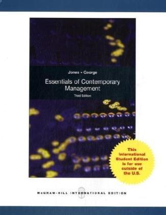 9780071284059: Essentials of Contemporary Management
