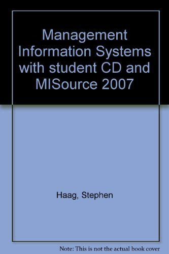 9780071284196: Management Information Systems for the Information Age