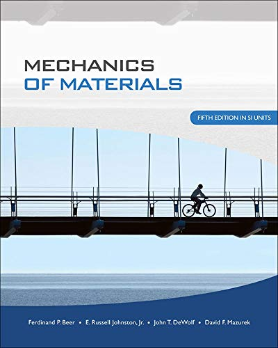 9780071284226: Mechanics of Material (SI units)