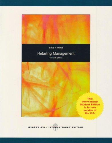 9780071284240: Retailing Management