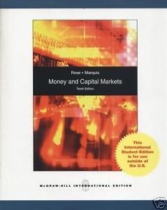 9780071284325: Money and Capital Markets