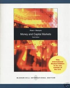 9780071284325: Money and Capital Markets