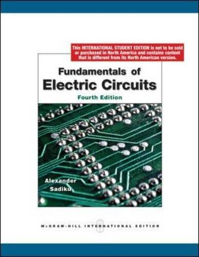 9780071284417: Fundamentals of Electric Circuits