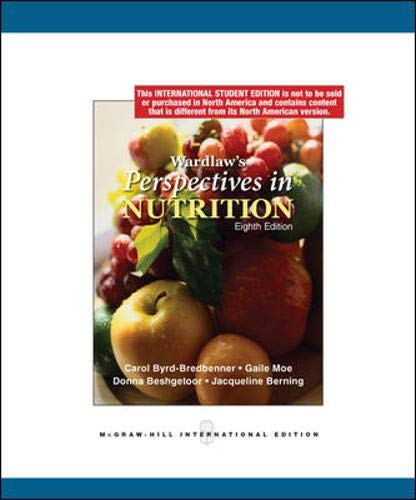 9780071284462: Perspectives in Nutrition