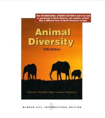 Animal Diversity, 5th Edition: Larry S. Roberts,