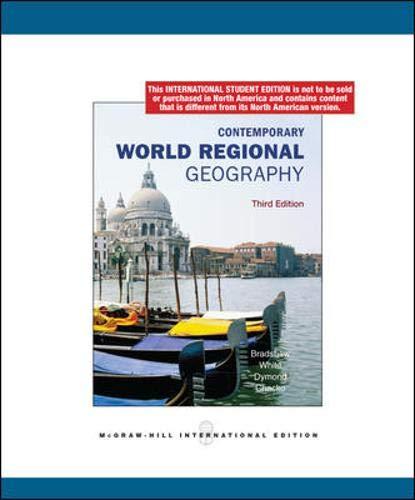 9780071284516: Contemporary World Regional Geography