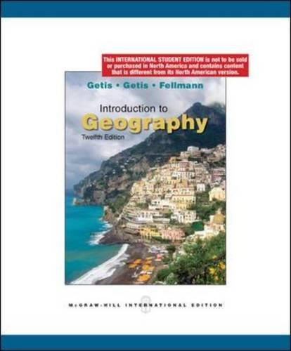9780071284530: Introduction to Geography
