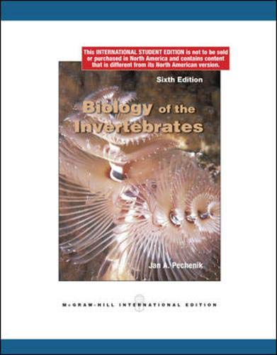 9780071284554: Biology of the Invertebrates