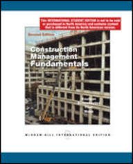 9780071284561: Construction Management Fundamentals