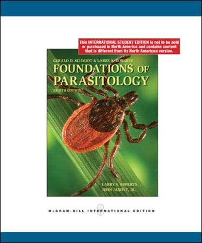 9780071284585: Foundations of Parasitology