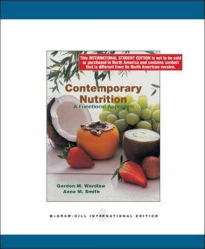 9780071284639: Contemporary Nutrition: a Functional Group Approach