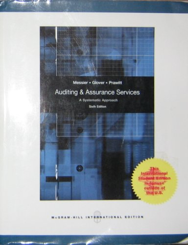 9780071284660: Auditing and Assurance Services