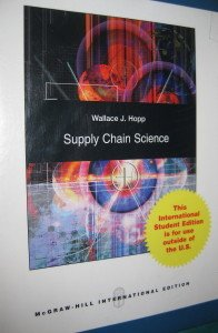 9780071284769: Supply Chain Science
