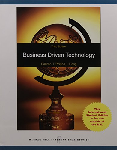 9780071284783: Business Driven Technology