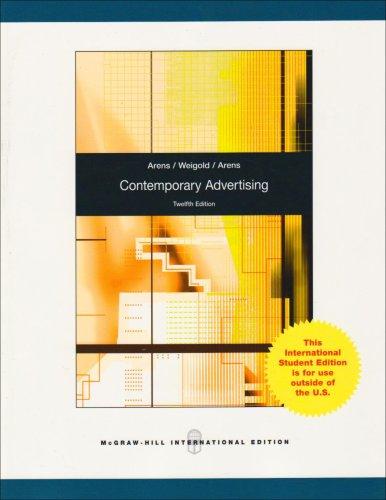 9780071284790: Contemporary Advertising