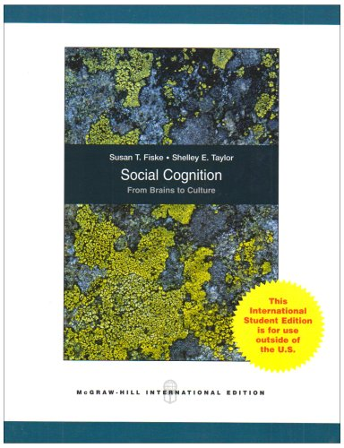9780071284868: Social Cognition, from Brains to Culture
