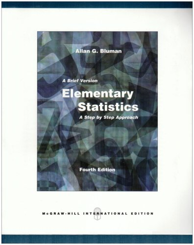 9780071284875: Elementary Statistics: Brief Version with Data Disk