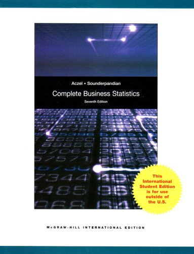 9780071284936: Complete Business Statistics