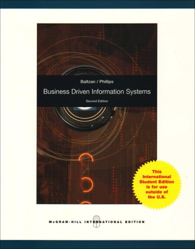 9780071285247: Business Driven Information Systems