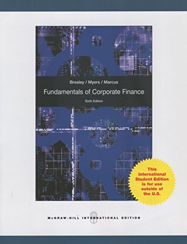 solutions to chapter 15 brealey myers corporate finance Product description principles of corporate finance 11th edition brealey solutions manual you should know instant access after placing the order all the chapters are included we provide test banks and solutions only we do not have the textbook.