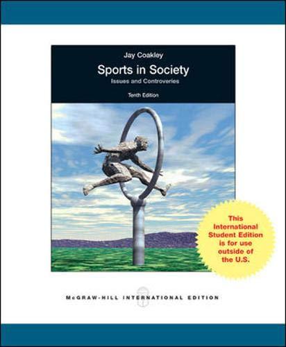 9780071285285: Sports in Society