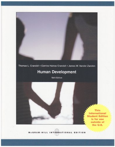 9780071285308: Human Development