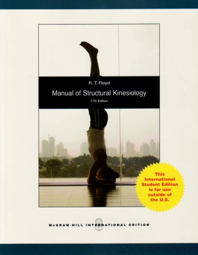 9780071285360: Manual of Structural Kinesiology