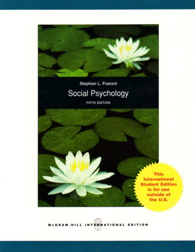 9780071285438: Social Psychology