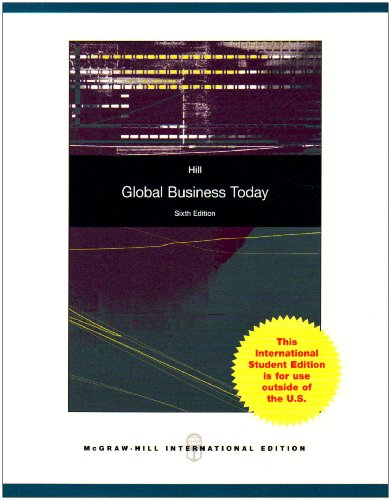 9780071285506: Global Business Today